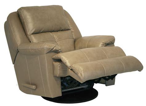 crosby power chaise swivel glider recliner  mushroom