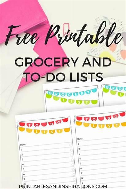 Grocery Printables Printable Task Printablesandinspirations