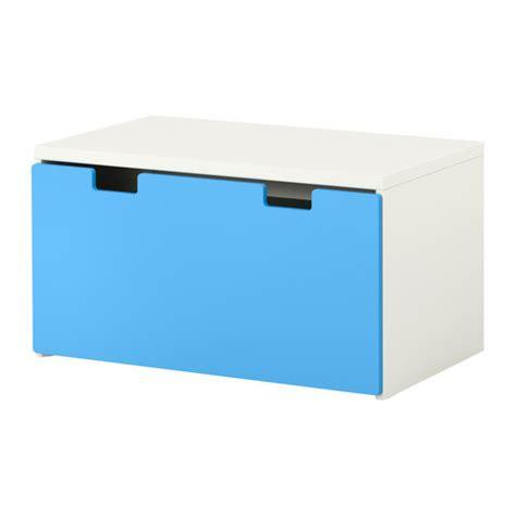 stuva banc avec rangement blanc bleu ikea
