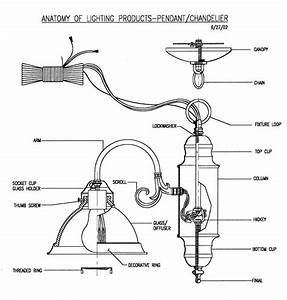 Home Light Fixtures Diagram