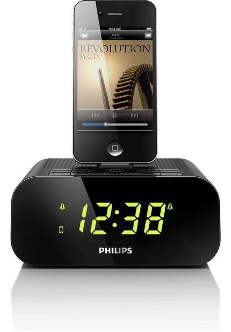 Iphone Dock Wecker by Radiowecker F 252 R Ipod Iphone Aj3270d 12 Philips
