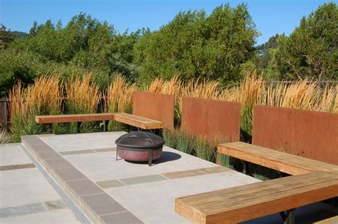 landscape seating built in patio seating landscaping network