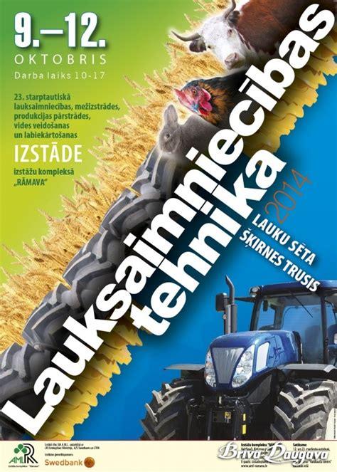 Lauksaimniecības izstādes Rāmavā   Brīvā Daugava