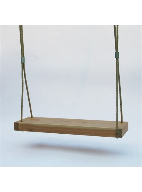 Wooden Swing by Wooden Swing For A Garden