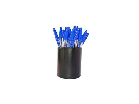 pot 224 crayons en cuir accessoire de bureau