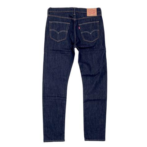 dark blue slim fit  waist jeans  levis clothing