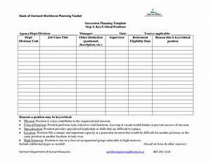12 best images of strategic planning worksheet template With sample succession plan template