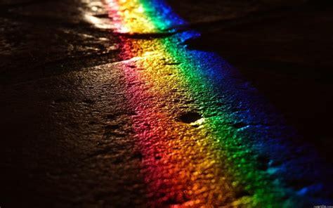 magic rainbow in the