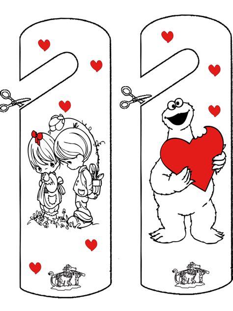 panneau de chambre deurhanger valentijn knutselen bouwplaten