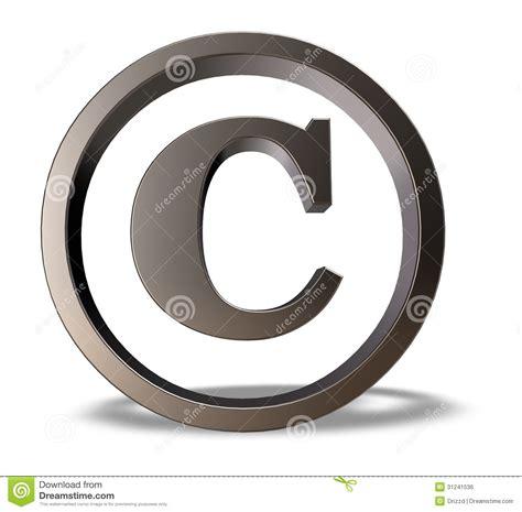 Copyright Symbol Stock Illustration Image Of Concept