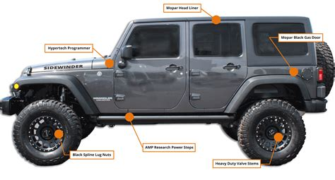 Jeep Wrangler: Side Winder Edition   HB Off Road Performance