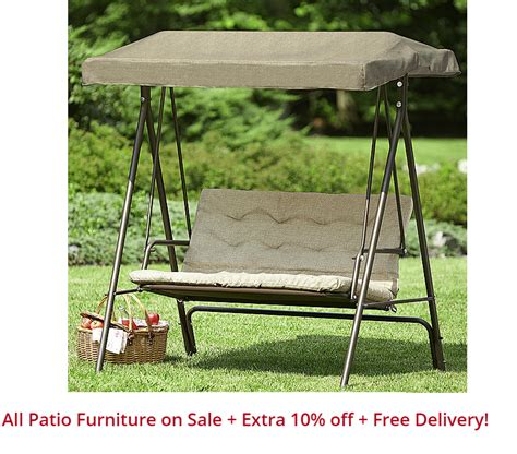 coupons and freebies essential garden 2 seat garden swing