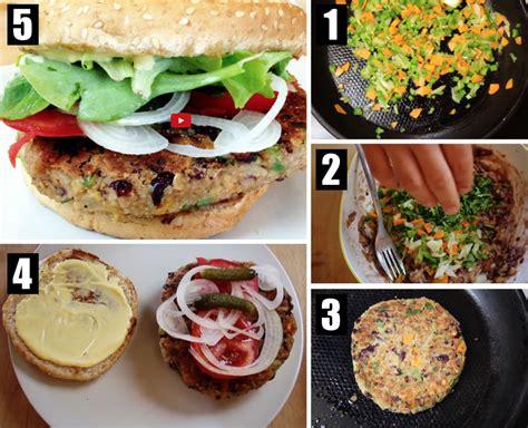tuto cuisine tuto succombez au burger végétarien la recette