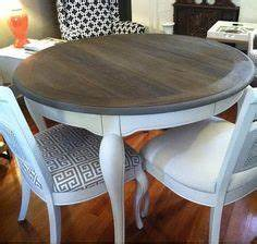 Broyhill Fontana Sofa Table Refinished With Annie Sloan
