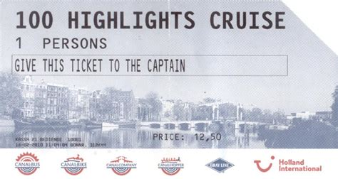 Boat Tickets by The International Canal Cruise Ticket Ifblog