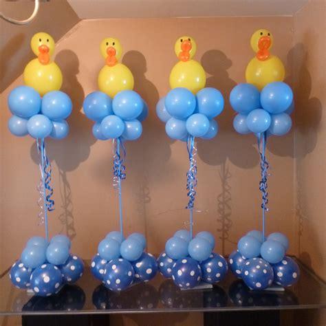 balloons baby shower centerpieces balloon decorations baby shower ideas pinterest