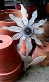 285 best images about Metal Art on Pinterest | Metal rusty metal flowers garden art
