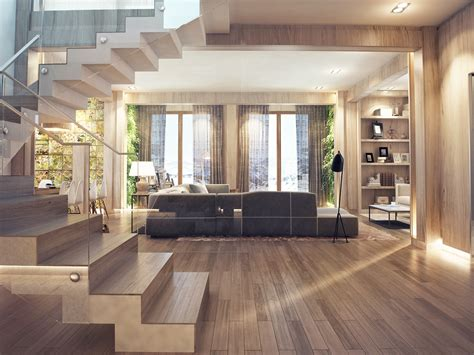 wood home interiors wood floors interior design ideas
