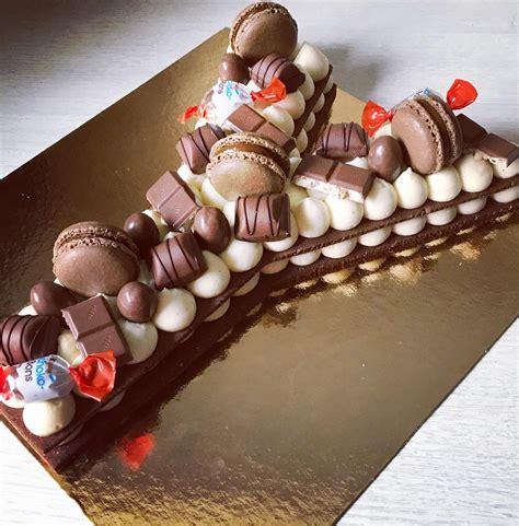 8 octobre 2018 par lauren ferrie 81 commentaires. Gateau Chiffre Chocolat Kinder - Collection de gâteaux