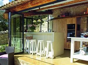 cuisine exterieure outdoor kitchen http wwwmaison With idee deco cuisine avec pinterest deco exterieur