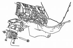Dodge Nitro Engine Mount  Front