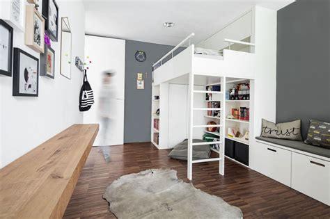 Kinderzimmer Junge Skandinavisch by Jugendzimmer Hochbett Skandinavisch Kinderzimmer