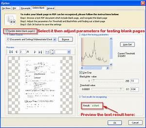 How to detect and delete blank scanned pdf pages with for Pdf document page delete