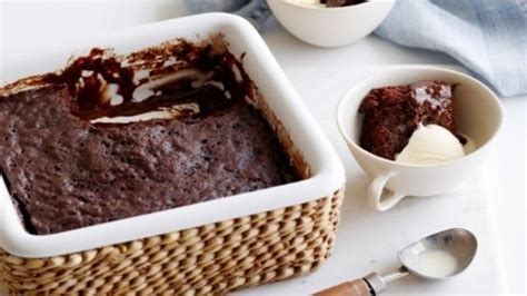 microwave dessert recipe microwave chocolate pudding cake recipes food network uk