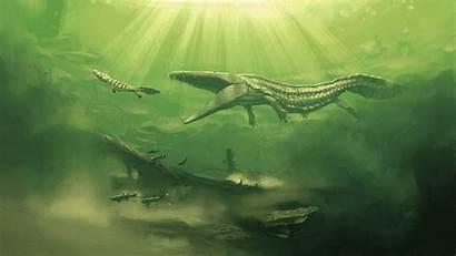 Prehistoric Dinosaur Simon Wallpapers Mastodonsaurus Desktop Dinosaurs