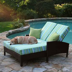 Patio Furniture Double Chaise Lounge