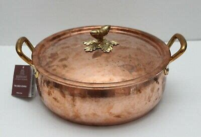ruffoni solid specialty cookware hand hammered copper