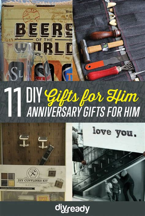 anniversary gifts   diy projects