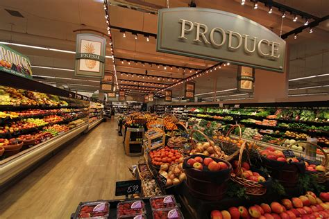 store cuisine interior grocery store decor produce area decor market