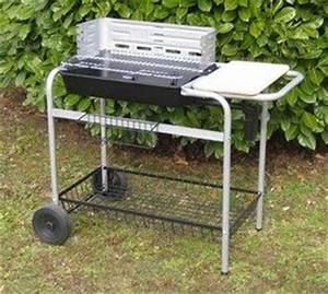 Barbecue Cuve En Fonte : somagic barbecue cuve fonte rectangulaire 52x36cm jardin ~ Nature-et-papiers.com Idées de Décoration