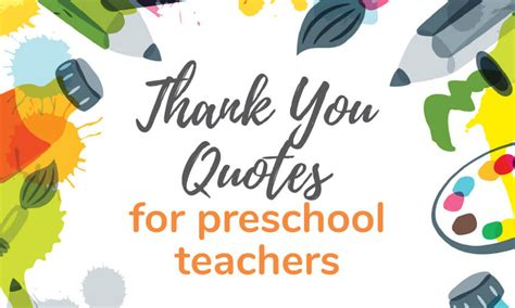 write a thank you note to preschool plus thank 407 | thank you quotes for preschool teachers