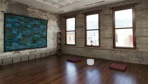 yoga studio eclectic home gym   gennxo
