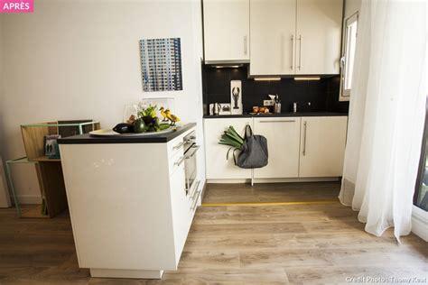 coin cuisine studio avant après optimiser l 39 espace dans un studio maison