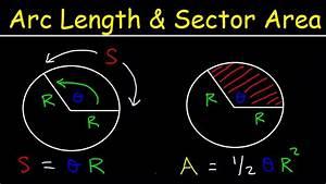 Arc Length Of A Circle Formula