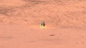 SpaceX Red Dragon mission Mars landing animation test 1 ...