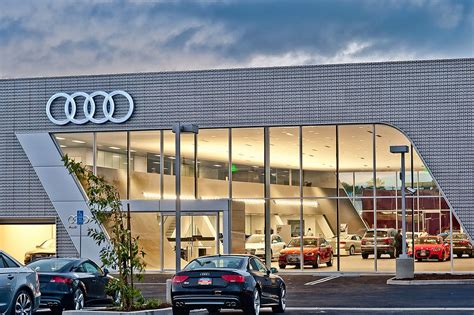 Audi Celebrates Grand Opening Of Audi Pacific First Leed