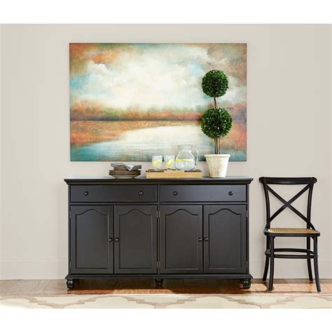 Black Sideboard Buffet by Home Decorators Collection Harwick Black Buffet 5442100210