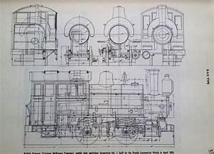 Steam Locomotive Diagram Illustration Schematic 0