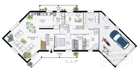 maison plain pied 3 chambres demeure spacieuse 2 dé du plan de demeure spacieuse