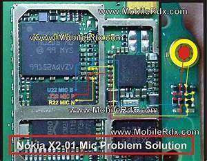Nokia X2-01 Mic Ways Jumper Solution