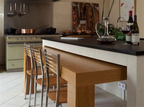 table de cuisine retractable 63 modèles originaux de table gain de place archzine fr