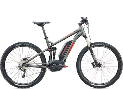 e mtb fully test erster test trek e mountainbike powerfly fs