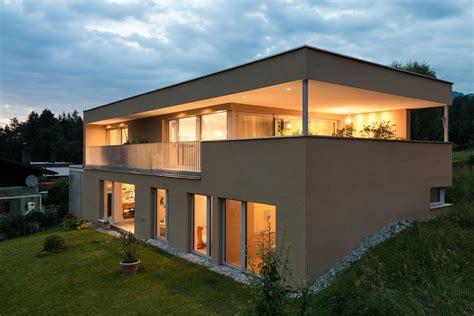 Moderne Architektur Häuser Kaufen by Einfamilienhaus Batschuns Modern Massivbau Moderne