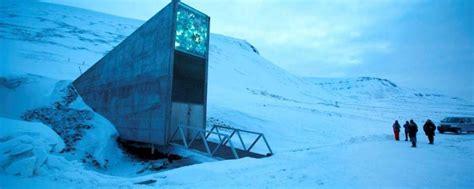 chambre climatique norvège la réserve mondiale de graines de svalbard