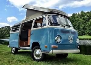 Volkswagen Bus  Vanagon Van 1970 Blue And Ivory For Sale