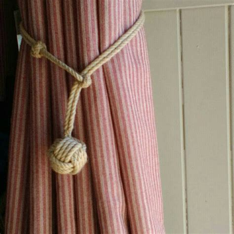 diy outdoor curtain tie back ideas patio backs out of rope